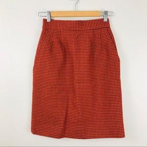 J.Crew VTG Knit Wool Skirt